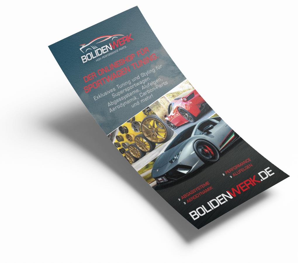Flyer Design und Druck MediaHeroes