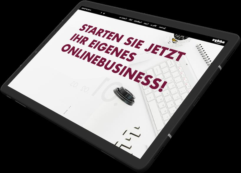 Starten Sie jetzt ihr eigenes Onlinebusiness