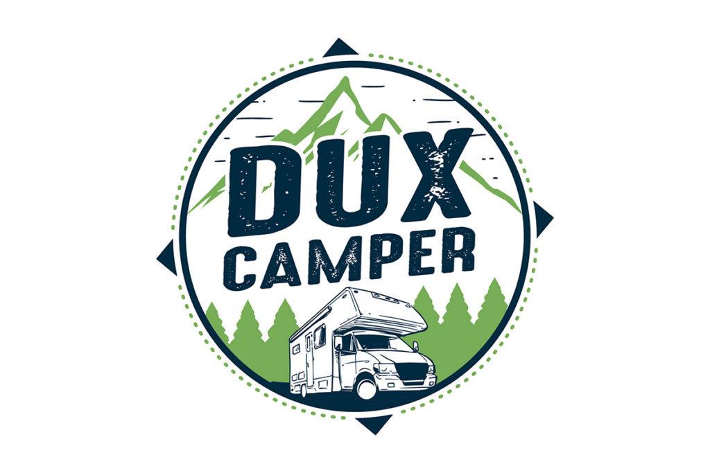 MediaHeroes Logodesign für Dux Camper